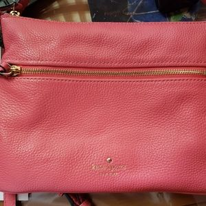 Kate spade  pink salmon  colored purse